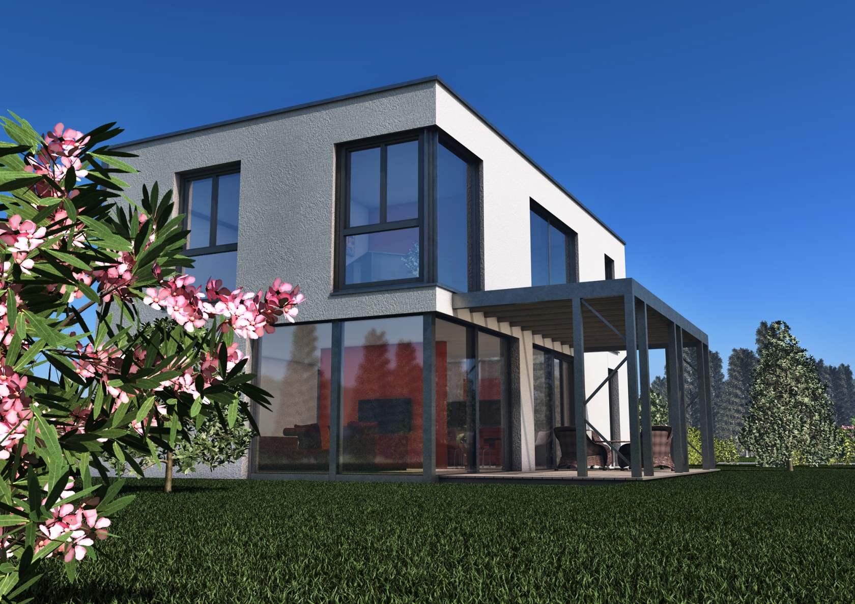 Vita nova modern modern glass houses kager for Vita house