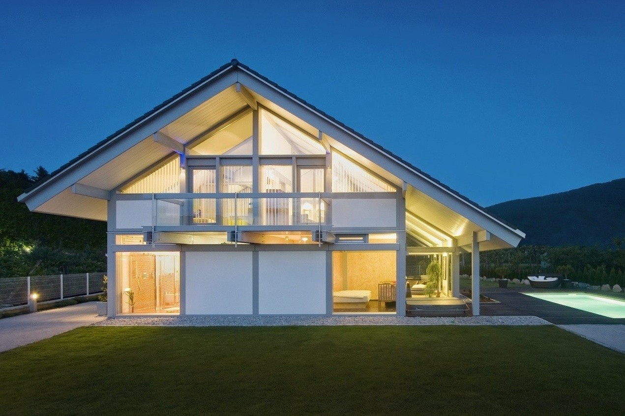 Modern glass houses kager for Contemporary glass house