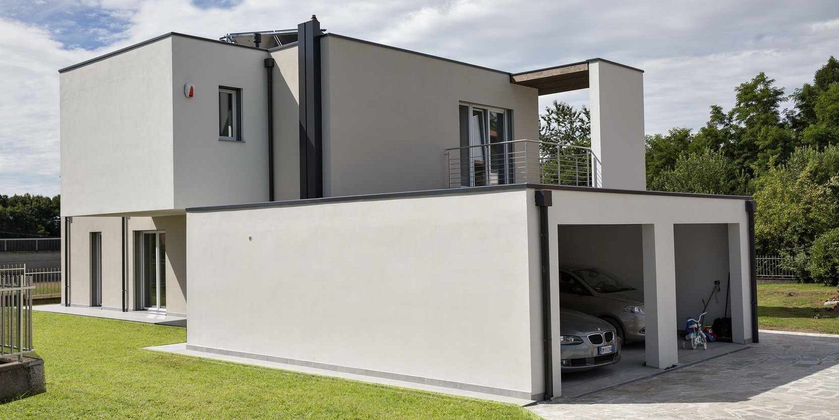 Contemporary flat roof house | Modern glass houses - KAGER