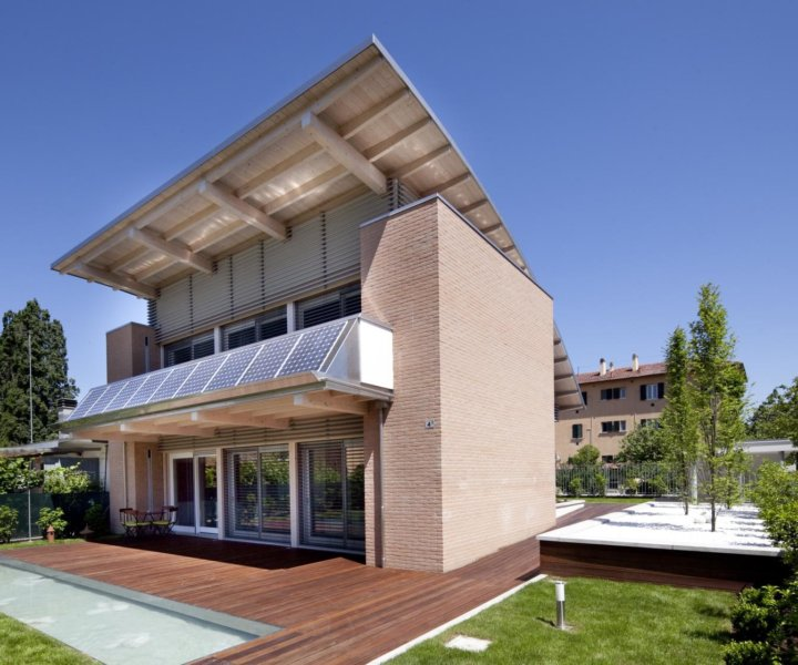 Modern individual wooden house by KAGER HOUSE