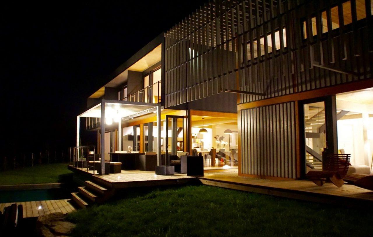 Modern house - Lascaux France