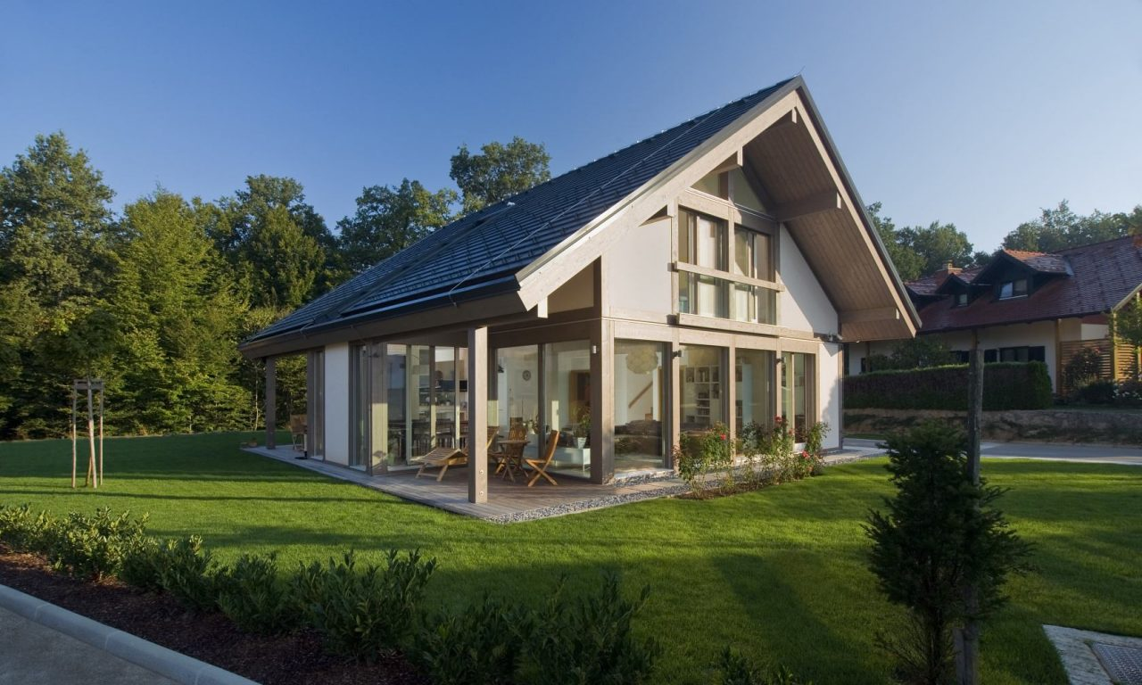 Glass house - which allows relaxation