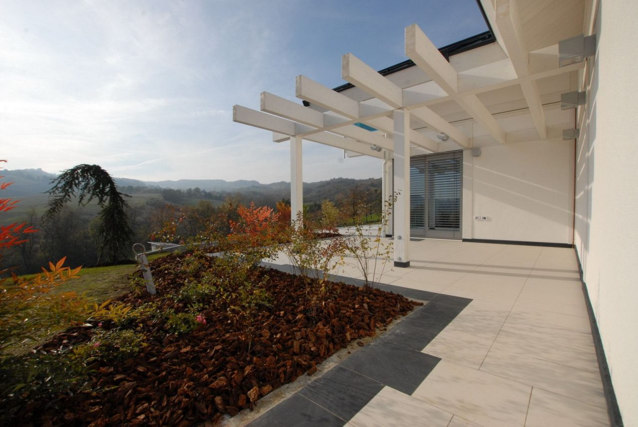 Glass house - In the italian spa